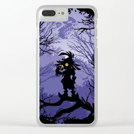 Zelda Majora's Mask Skullkid Clear iPhone Case
