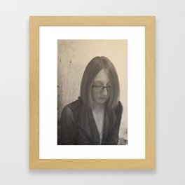 I Can't Tell You Why Framed Art Print
