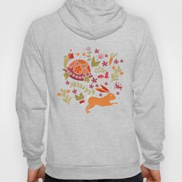 Tortoise and the Hare in Red Hoody