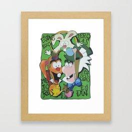Alice in wonderland I Framed Art Print