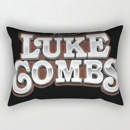 Luke combs Poster Rectangular Pillow