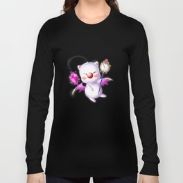 Time Traveling Moogle Long Sleeve T-shirt