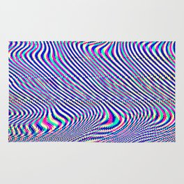 Glitch universe background. Old TV screen error. Rug