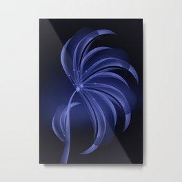 Eisblume Metal Print