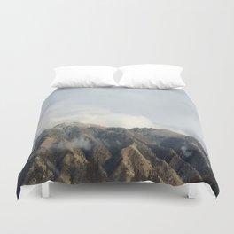 Mountain Peak Duvet Cover