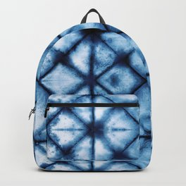 Shibori Paper Blues Backpack