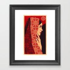 ASIANWOMAN II Framed Art Print