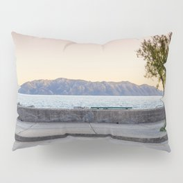 Seascape and Tree Pillow Sham