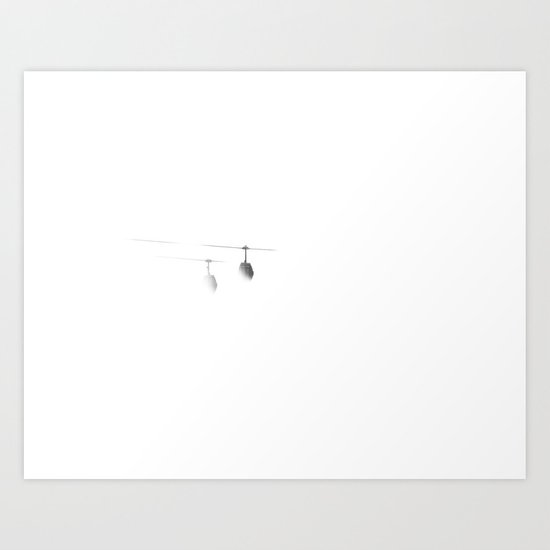 Some stay (Limbo Series) Art Print