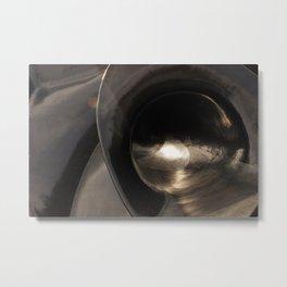 Slippery Slope Metal Print