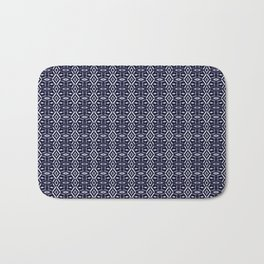 Meshed in Blue Bath Mat