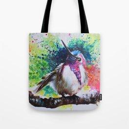 Costa's Hummingbirds Tote Bag