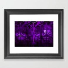 purple dream  Framed Art Print