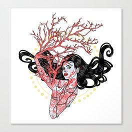 Edwina Treefingers Canvas Print