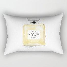 Perfume bottle fashion yellow Rectangular Pillow