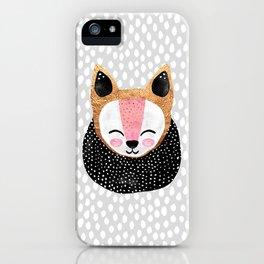Little Arctic Fox iPhone Case