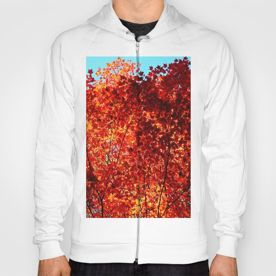 Red Maple Explosion Hoody