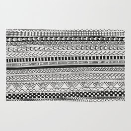 Pattern Line Abstract Rug