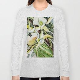 Darwins Orchid Long Sleeve T-shirt