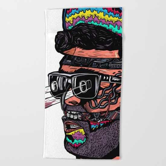 Bass Brothers Beach Towel