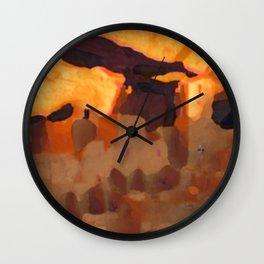 Mesa Verde National Park Colorado Wall Clock