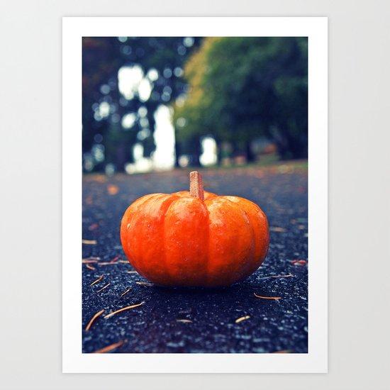 South Park pumpkin Art Print