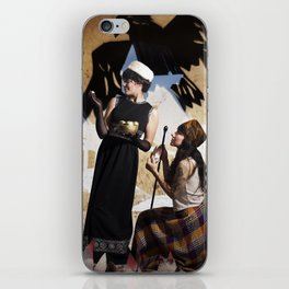 The Feather of Finest the Falcon iPhone Skin