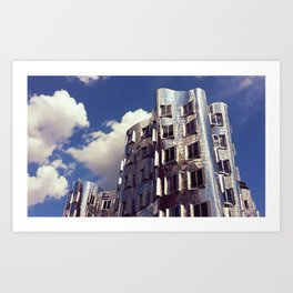 Neuer Zollhof   Frank Gehry   architect Art Print
