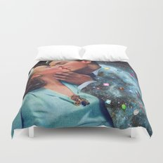 I Wish I Was a Cloud Too Duvet Cover