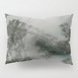 Stormy Sea Abstract Film Pillow Sham