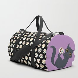 Kitty sugar skull Duffle Bag