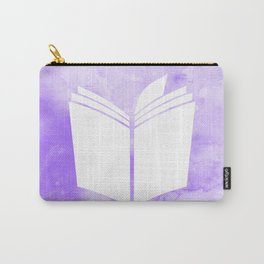 Watercolour Book (Violet) Carry-All Pouch