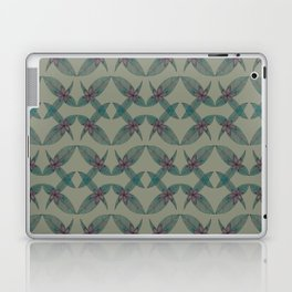 LINED FLORAL Laptop & iPad Skin