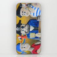 pirates iPhone & iPod Skins featuring Pirates! by Wintoons