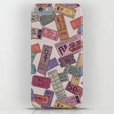 Vintage Tickets Slim Case iPhone 6s Plus