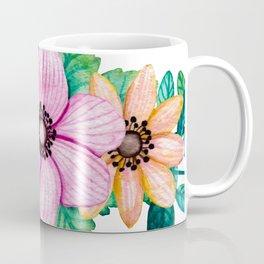 Pretty Crown of Flowers Coffee Mug