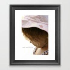 I am Beautiful Framed Art Print
