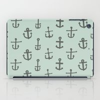 anchors iPad Cases featuring Anchors by siobhaniaa