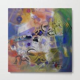 Atract composition 188 Metal Print