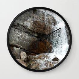 Rocky Mountain Cascade Wall Clock