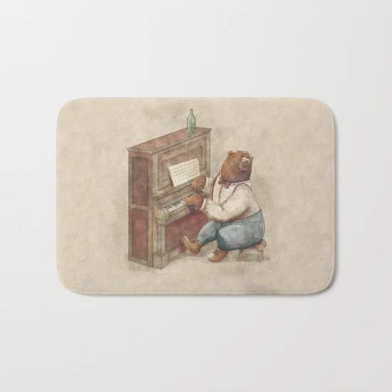 The Pianist Bath Mat