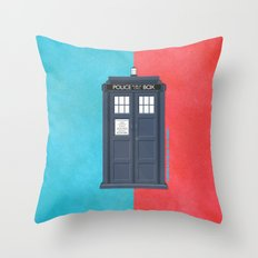 10th Doctor - DOCTOR WHO Throw Pillow