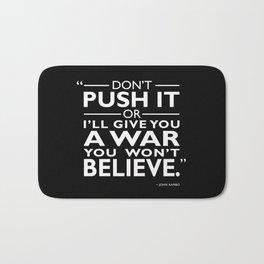 A War You Wont Believe Bath Mat