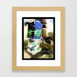 Fair Area Framed Art Print