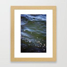 Iridescent Water Framed Art Print