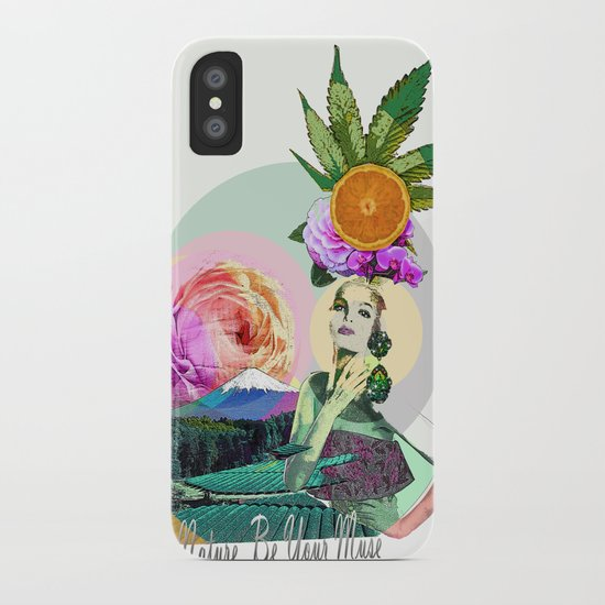 Let Nature Be Your Muse iPhone Case