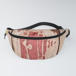 Thee Weathered Planks Of Wood Fanny Pack