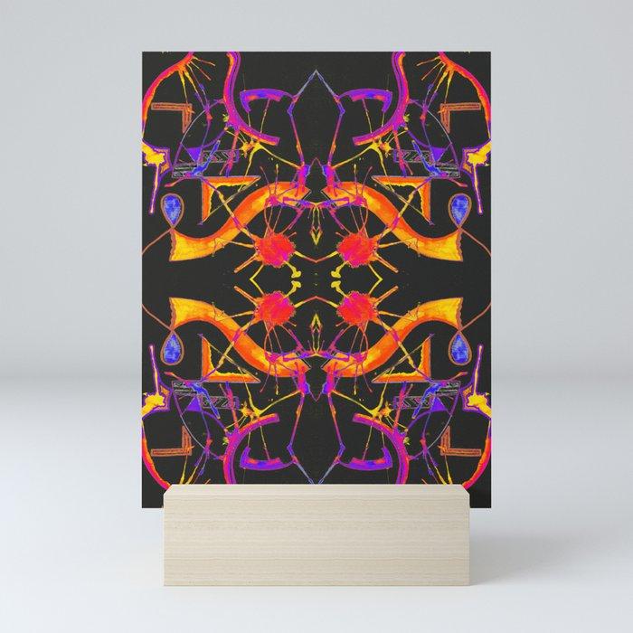五 (Wǔ) Mini Art Print