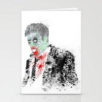 kieren walker Stationery Cards featuring Walker by Evan