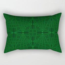 ELEGANT GREENERY GEOMETRICAL DIAMONDS Rectangular Pillow